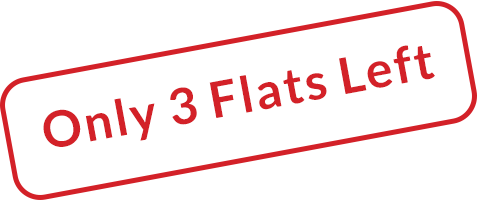 Only 3 Flats Left